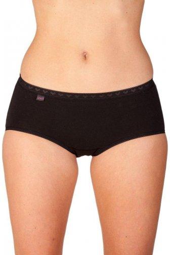 Women Midi Brief Three Pack Black Size 10-20 a25942dd1a