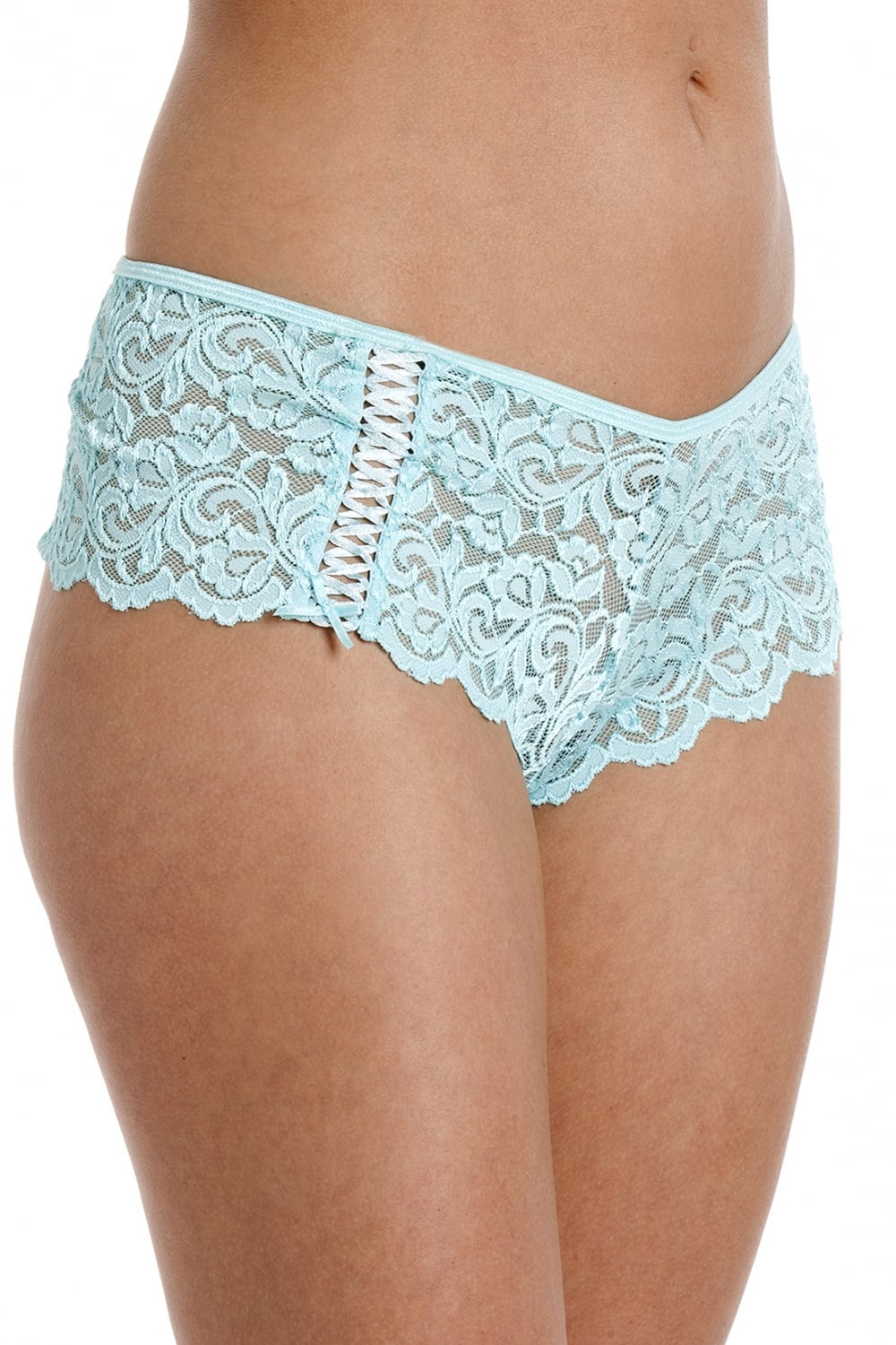 Just ask Jordan, the FOXERS Charcoal Grey Lace Boxers and matching Cropped Lace Camisole make a great sleep set!. FOXERS are the Original Lace Boxer. Our lace boxer shorts are so soft, it will change your mind about what lace feels like.