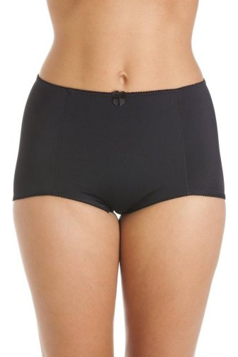 Womens Black Eternal Control Full Shapewear Brief