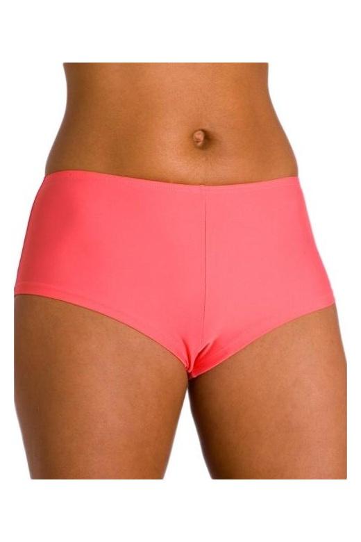 Womens Coral Mix & Match Classic Beach Swimwear Bikini Shorts