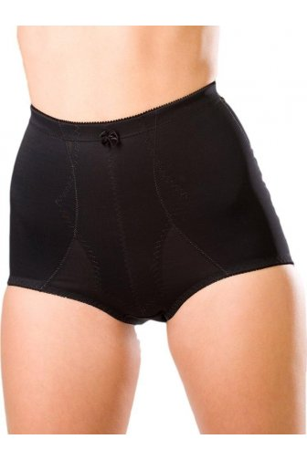 Womens Ladies Black Bella Magic Firm Control Support Slimming Briefs