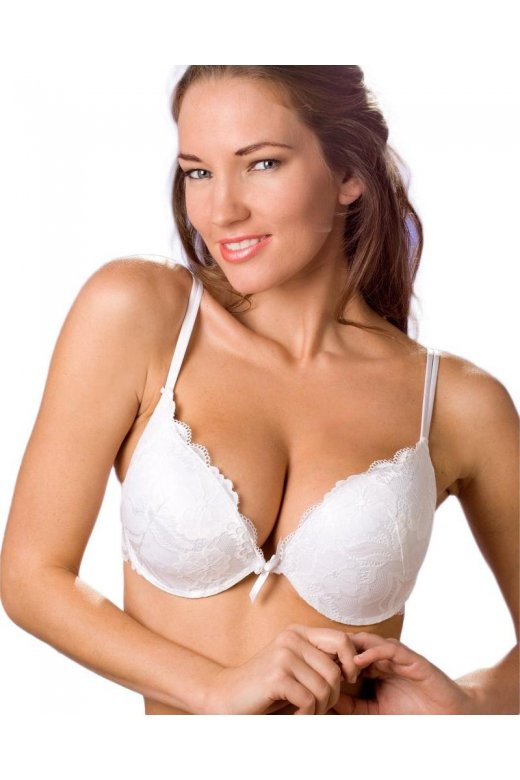 d4a4f5b296 Ladies Camille Lingerie White Push Up Gel Booster Padded Womens Bra Size  32A-38D