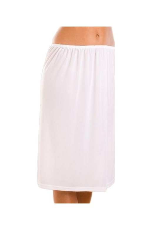 Womens Ladies Underwear White Half Slip 24 Petticoat 1024
