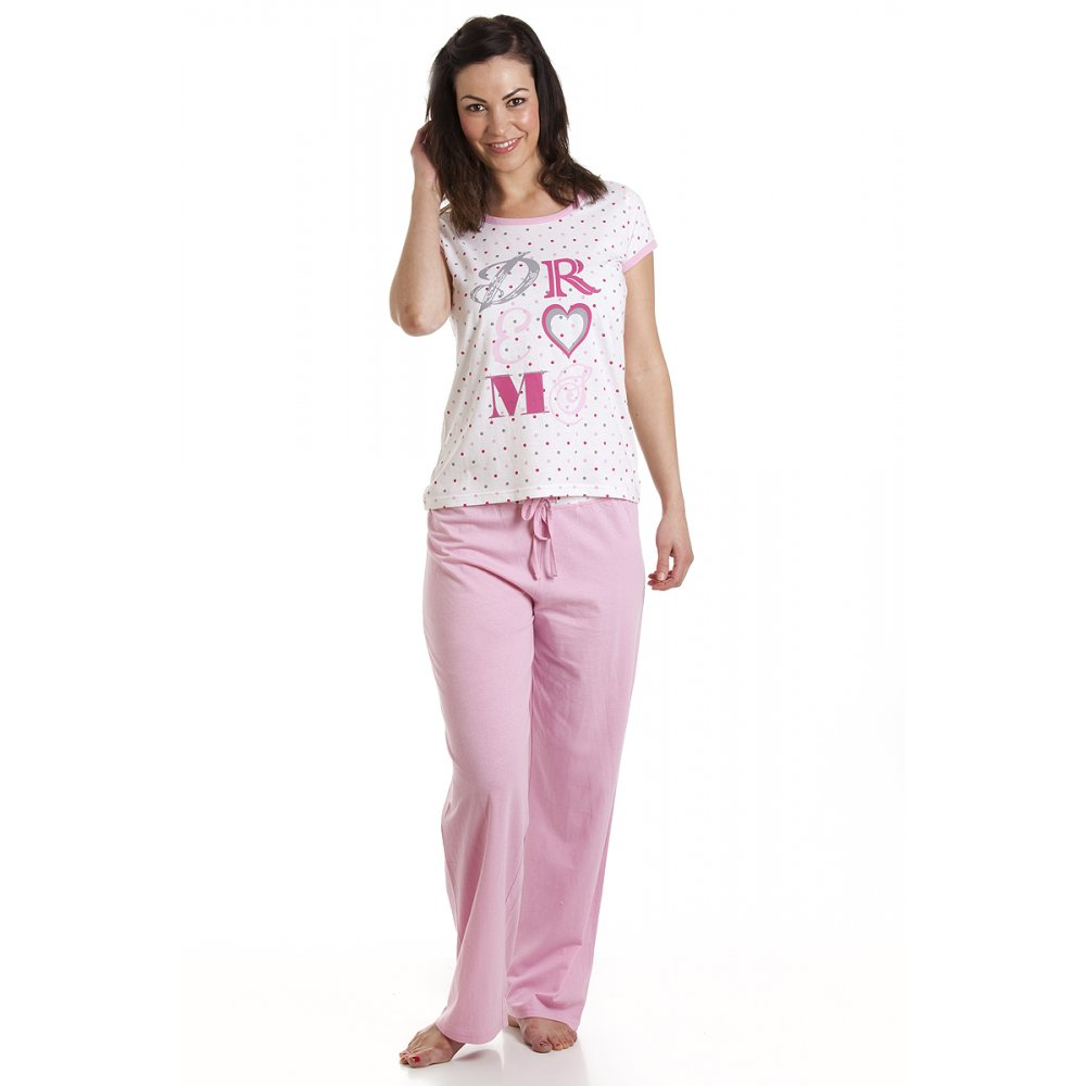 Get comfy with our gorgeous pyjama sets. Take your pick from pyjama sets in a wide range of colours and styles that will make you long for a duvet day. Choose from cute pure cotton trouser bottoms and matching tops for an evening of enjoyable lounging or, really cosy up with our collection of unbeatably soft fleece pyjamas.