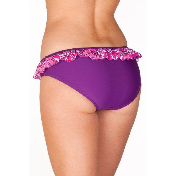 New Camille Womens Purple Pink Floral Swimwear Ladies Bikini ...