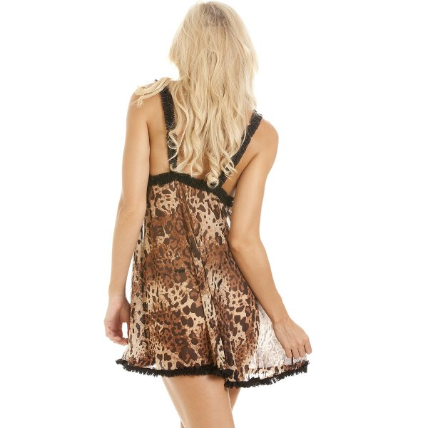 Free Shipping! animal-print Sleepwear - Fine Lingerie, Underwear and Sleepwear at HerRoom.