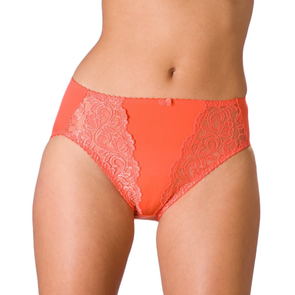 Lace Bikini Panties Light Grey - Brigitte Grey lace bikini panties with completely sheer back in sizes left XS - S. Light grey is a perfect color of underwear for petite women loving off-white undergarments, like ivory and other light hues.