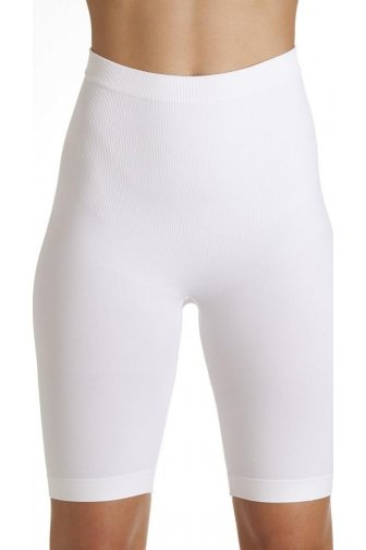Womens White Seamfree Shapewear Control Thigh Slimmer Support Briefs